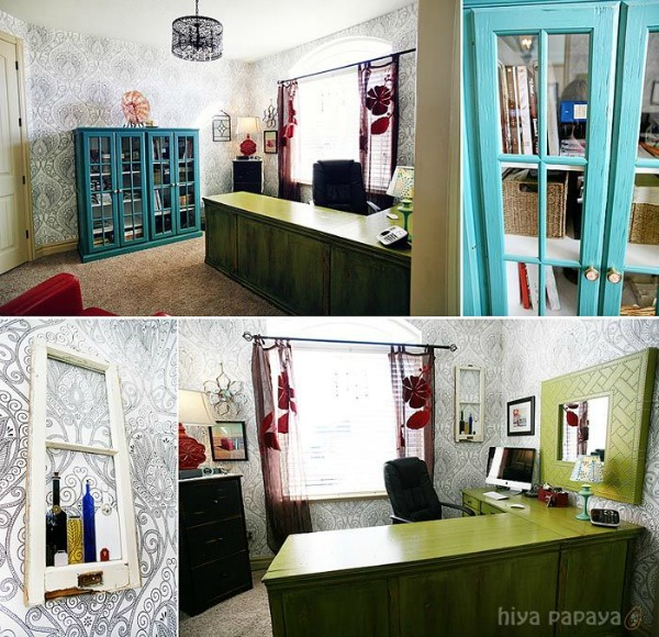 Office Eclectic Room: 5 Ways To Get This Look: Eclectic Office