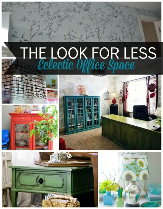 5 Ways to Get This Look:  Eclectic Office