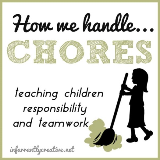 Chores for Kids – ages 5 and 8