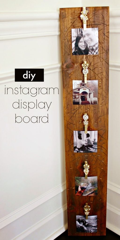 diy instagram diy instagram display board infarrantly creative