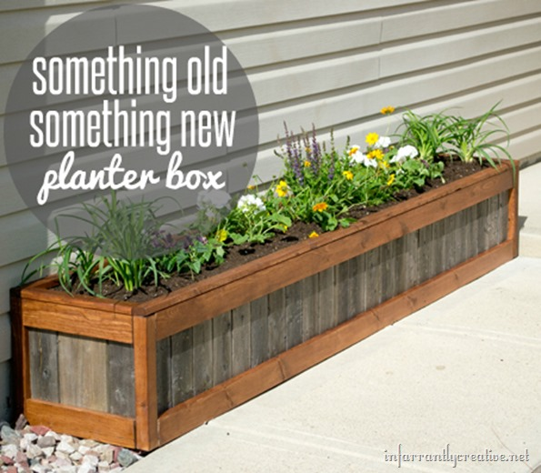 Something Old Something New Planter Box Infarrantly