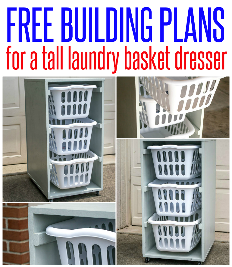 Laundry Basket Dresser Infarrantly Creative