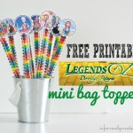 legends of oz printable topper