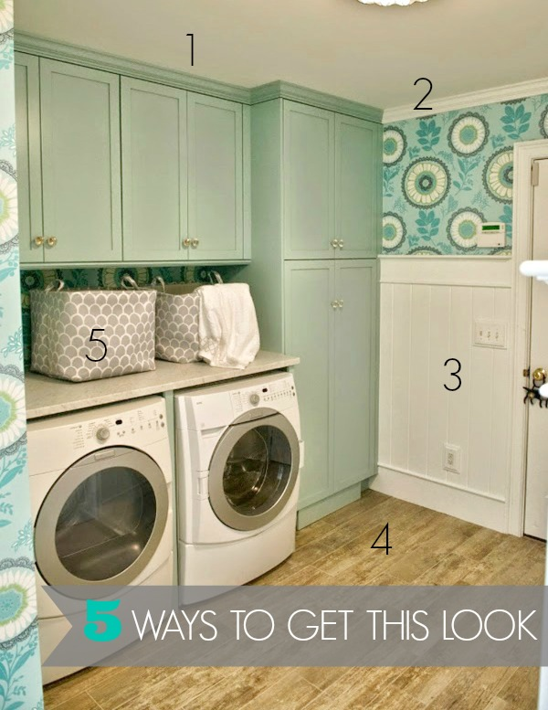 5 Ways To Get This Look Turquoise Laundry Room Infarrantly Creative