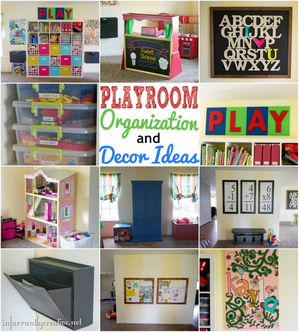 Playroom Organization and Decor Ideas