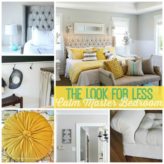 5 Ways to Get This Look:  Calm Master Bedroom