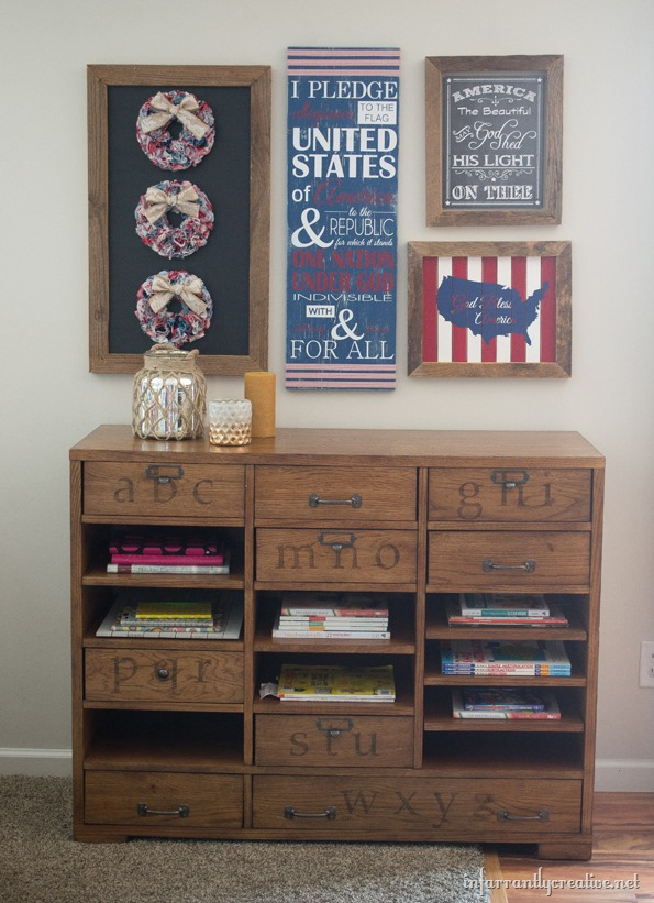 patriotic wall decorations