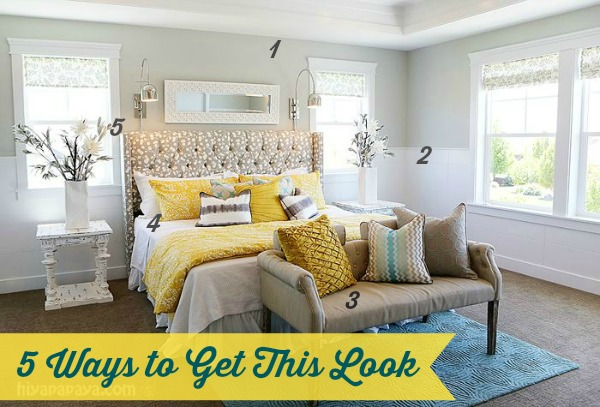 5 ways to get this look calm master bedroom infarrantly creative Master bedroom with yellow walls