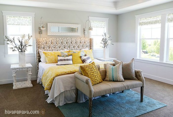 yellow-gray-calm-master-bedroom