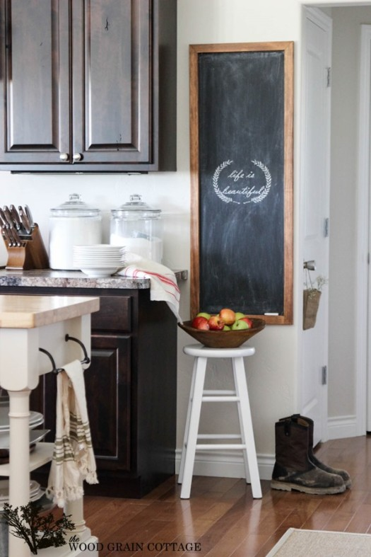 Huge DIY Chalkboard