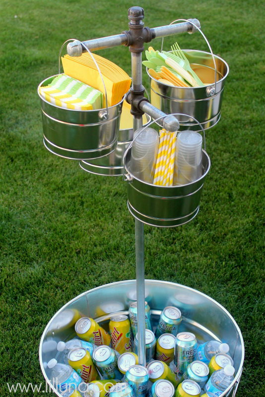 5 ways to create an outdoor beverage station - Idees pour barbecue party ...