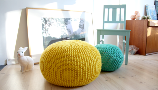 knitted-floor-pillows