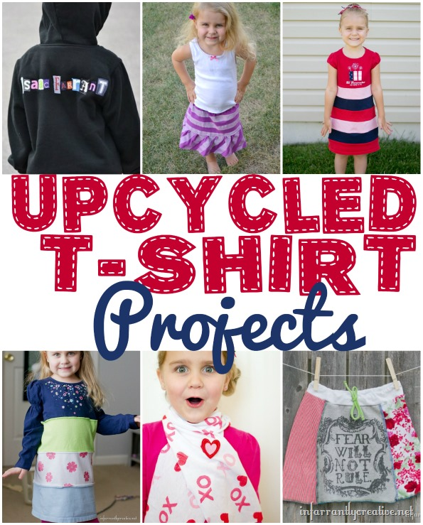 upcycled tshirt projects