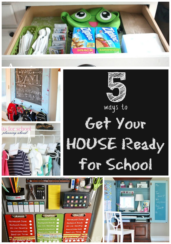 5 Ways To Get Your House Ready For School Infarrantly