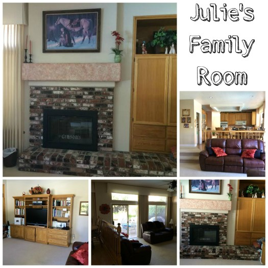 Julie Family Room Before