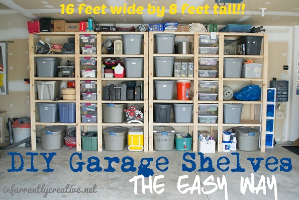 How to build garage shelves infarrantly creative solutioingenieria Image collections