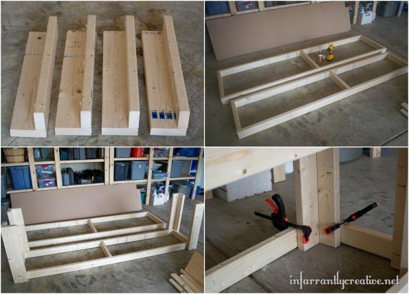 Garage organization diy workshop infarrantly creative for Diy garage workshop
