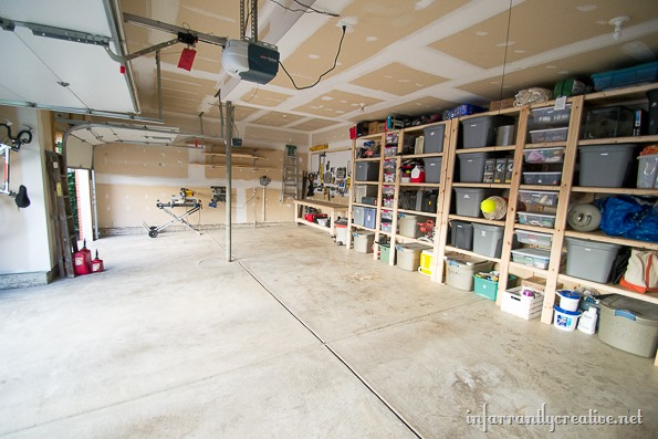 Garage Organization Reveal Infarrantly Creative
