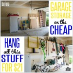 garage organization cheap