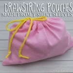 t-shirt sleeve pouches