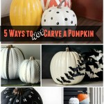 No Carve Pumpkins 5 Ways