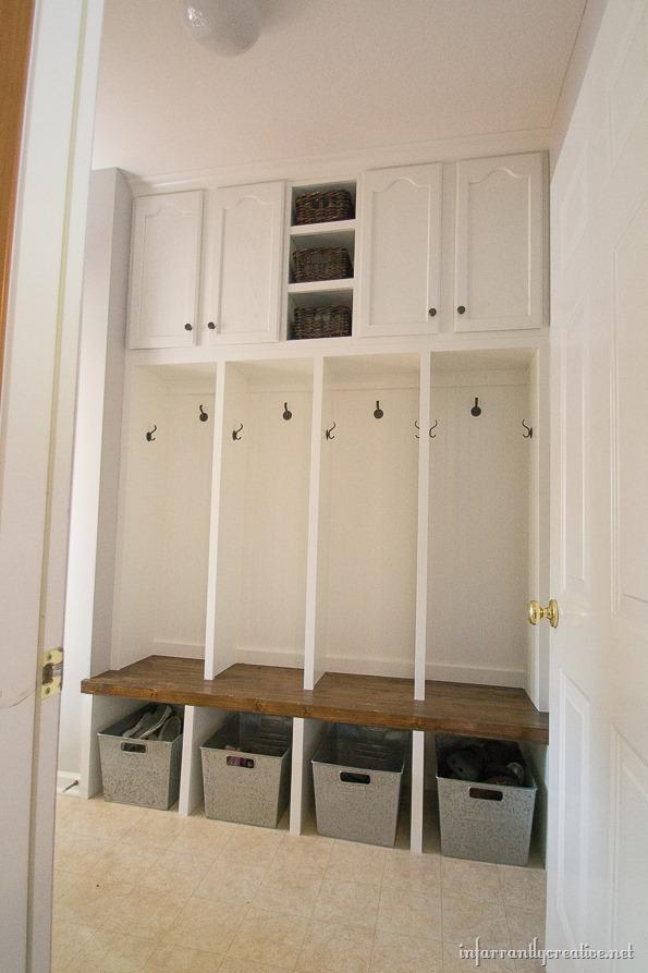 Mudroom Storage Diy : Diy mudroom joy studio design gallery best