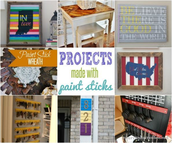 paint stick crafts