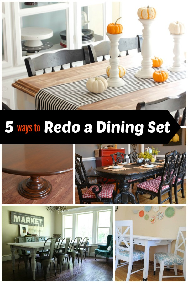 5 Ways to Redo a Dining Room Table