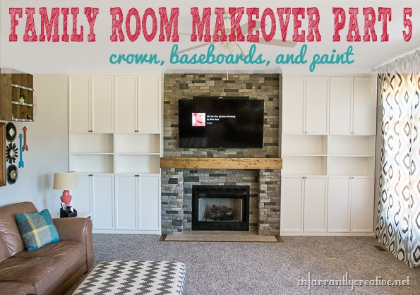 Family Room Makeover Part 5: Final Touches