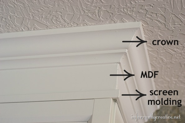 adding crown molding to billy bookcase 1