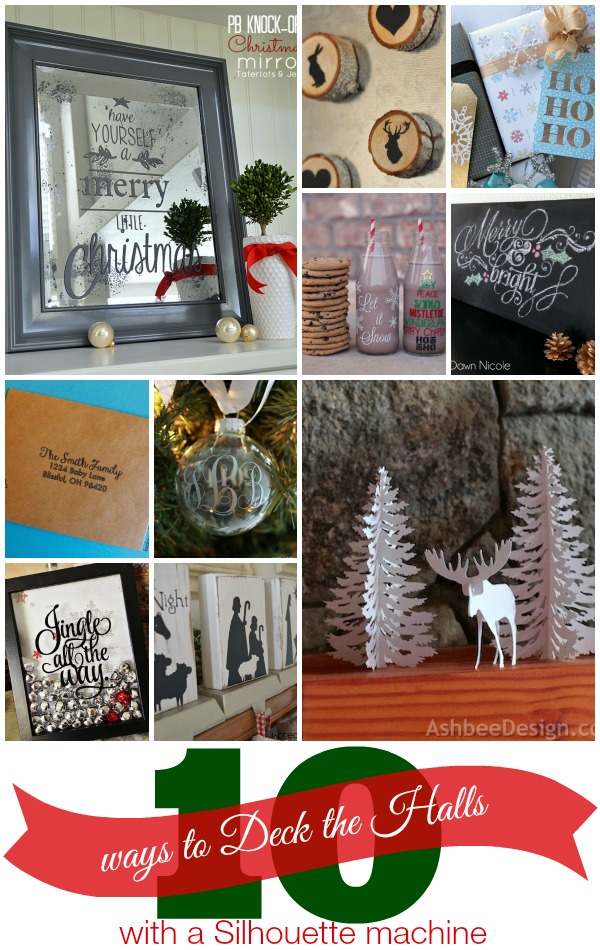 10 Ways to Deck the Halls with Silhouette