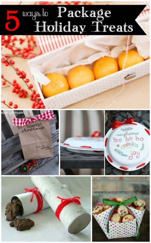 5 EASY Ways to Package Holiday Treats