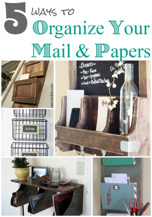 5 More Ways to Organize Your Mail