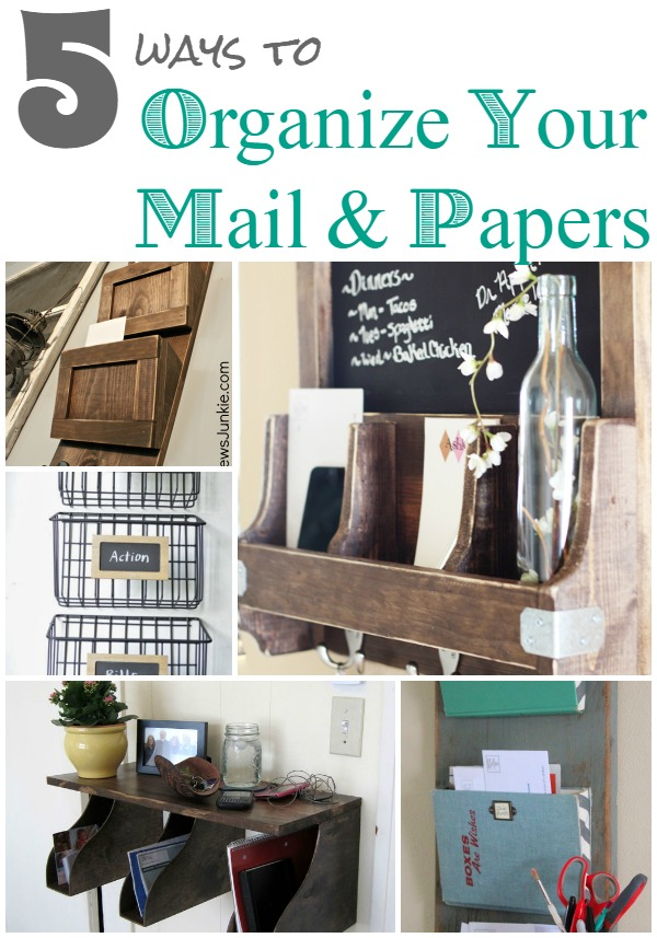 5 More Ways To Organize Your Mail Infarrantly Creative
