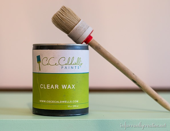 mint dresser waxed