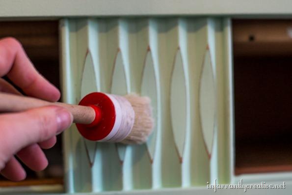 wax brush