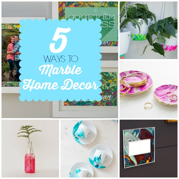 5 Ways to Marble Home Decor