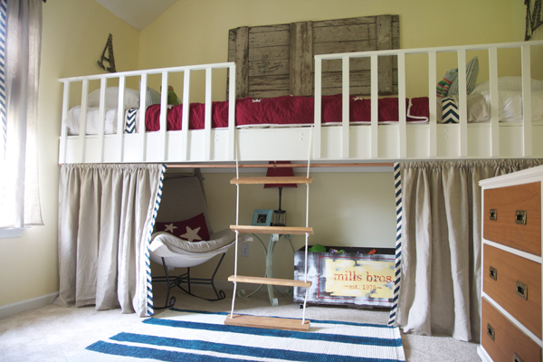 finished attics ideas - 5 Ways to Make Bedtime Fun with Loft Beds Infarrantly