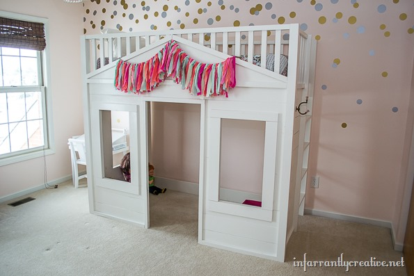 knock-off pottery barn bed