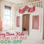 ttery Barn Kids Cottage Loft Bed KNOCK-OFF