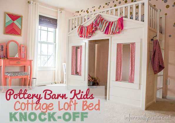 Pottery Barn Cottage Loft Bed Knock Off