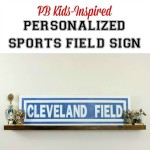 PB Kids Inspired Personalized Sports Field Sign