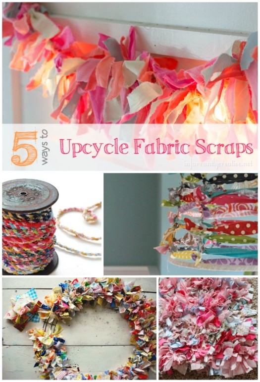 5 Ways to Upcycle Your Fabric Scraps
