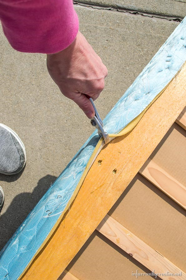 free wood boxspring