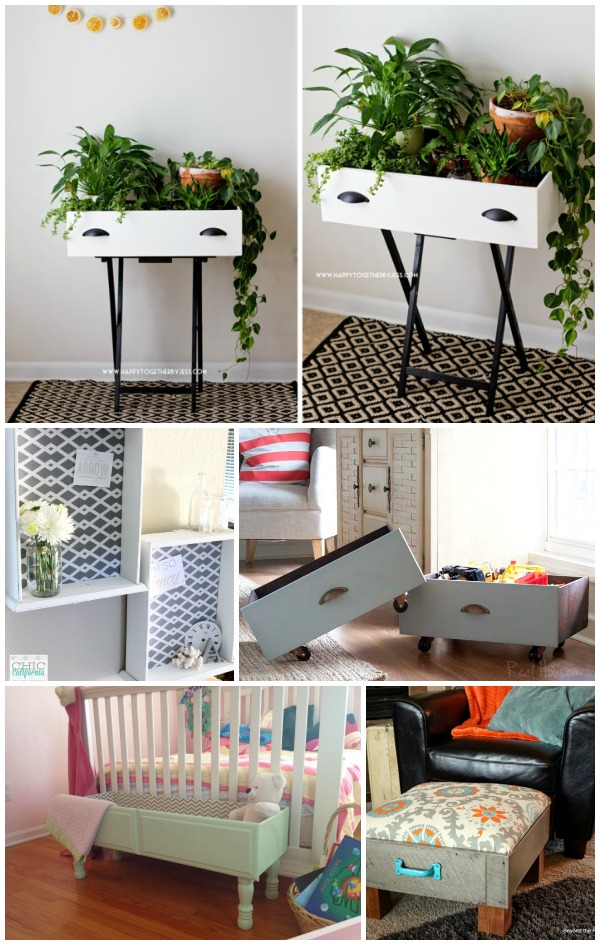 5 Ways to Repurpose a Drawer