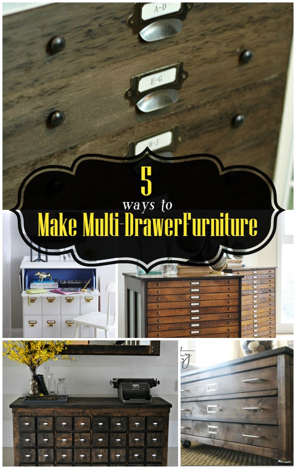 5 Ways to Make MultiDrawer Furniture  Infarrantly Creative