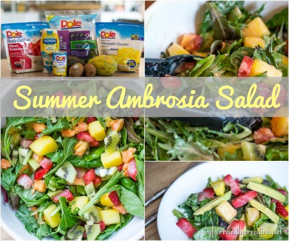 Summer Ambrosia Salad