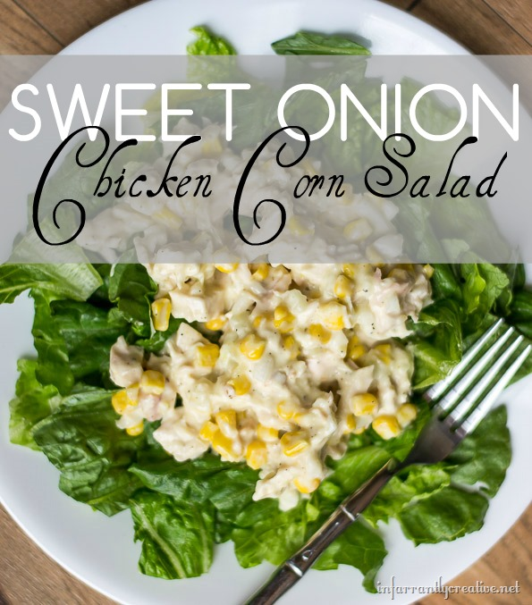 Sweet Onion Chicken Corn Salad