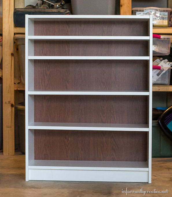 upcycled billy bookcase 2