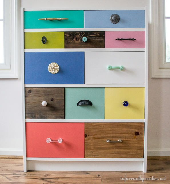 IKEA Billy Bookcase To Drawer Hack